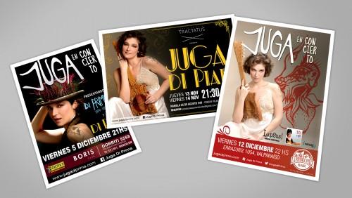 Diseño de afiche para vía pública