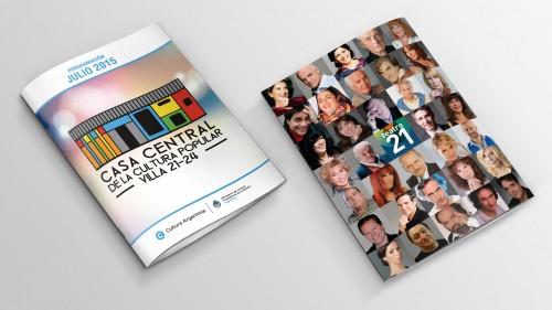 Diseño de revista - Tapa y Contratapa