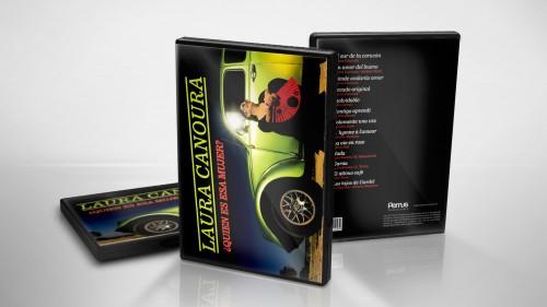 Diseño de arte Digipack DVD con libro interno