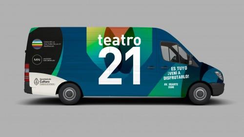 Ploteo publicitario vehicular para gira nacional