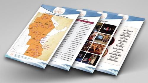Diseño de hojas A4 para informes