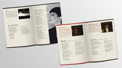 Diseño de arte lIbro interno Digipack DVD