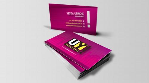 Diseño de tarjetas personales